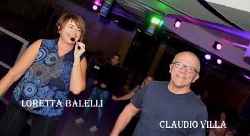 Claudio Villa e Loretta Balelli maestri di ballo di Ravenna.